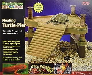 Penn-Plax REP602 The Reptology Floating Turtle Pier & Basking Platform Pet House, Small