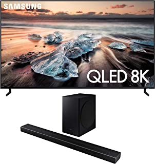 "Samsung QN55Q900RB 55"" 8K Ultra High Definition Smart QLED TV with a Samsung HW-Q60T Wireless 5.1 Channel Soundbar and Blu..."