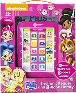 Nickelodeon Nick Jr. Girls Me Reader Electronic Reader and 8-Book Library