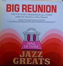 Fletcher Henderson All Stars Big Reunion Jazz Greats (Director Rex Stewart) Hall Of Fame Records release JG 624 1970's Jazz Vinyl (1972)