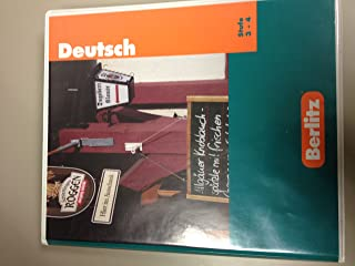 Deutsch Stufe 1 - 2 (German Levels 1 - 2) Book and 3 Audio Cassette Tapes