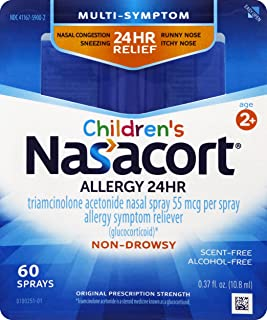 Nasacort Children's Allergy Spray, 0.37 Fl Oz (Pack of 1)