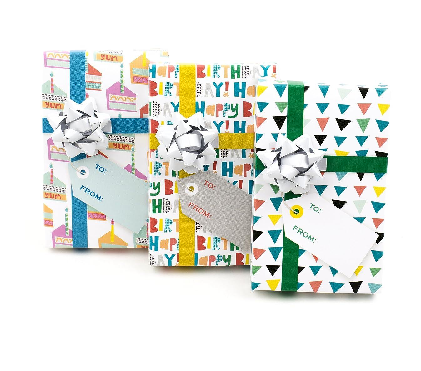 Hallmark Birthday Gift Card Holder (Mini Boxes, 3 Pack)