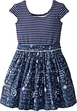 Maddy Mathematician Dress (Toddler/Little Kids)