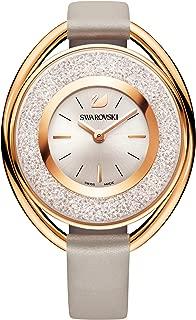 Swarovski Crystalline Oval Rose Gold-Tone Ladies Watch 5158544