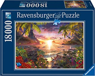 Ravensburger - David Penfound -  Paradise Sunset 18,000 Piece Jigsaw Puzzle for Adults – Softclick Technology Means Pieces Fit Together Perfectly