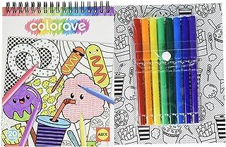 Alex Colorave Mini Coloring Pad Set - Multi Color