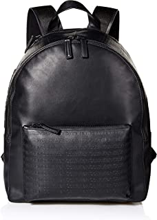 Calvin Klein Men's Monogram Backpack, black, One Size
