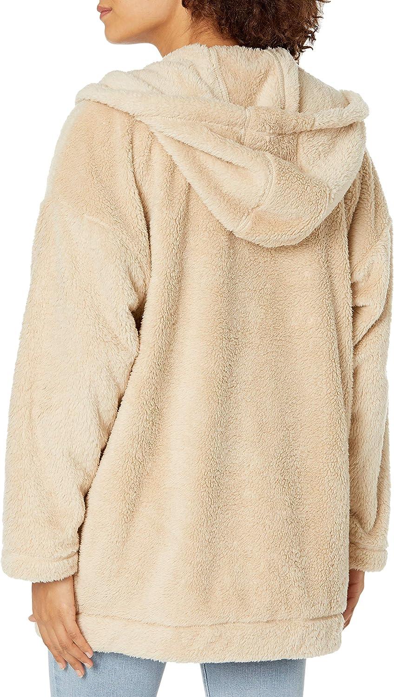 Roxy Women's Light of The Night Zip Up Sherpa Jacket