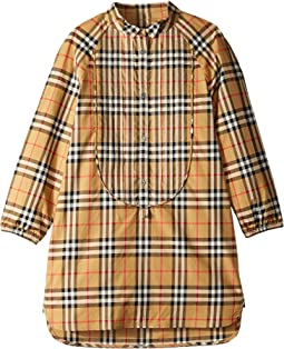 Elodie Check Dress (Little Kids/Big Kids)