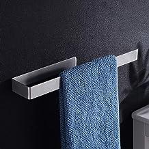 Aikzik Badhanddoekhouder zonder boren handdoekstang zelfklevend roestvrij staal voor badkamer en keuken 36 cm