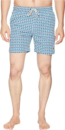 Bunny Print Swim Trunks