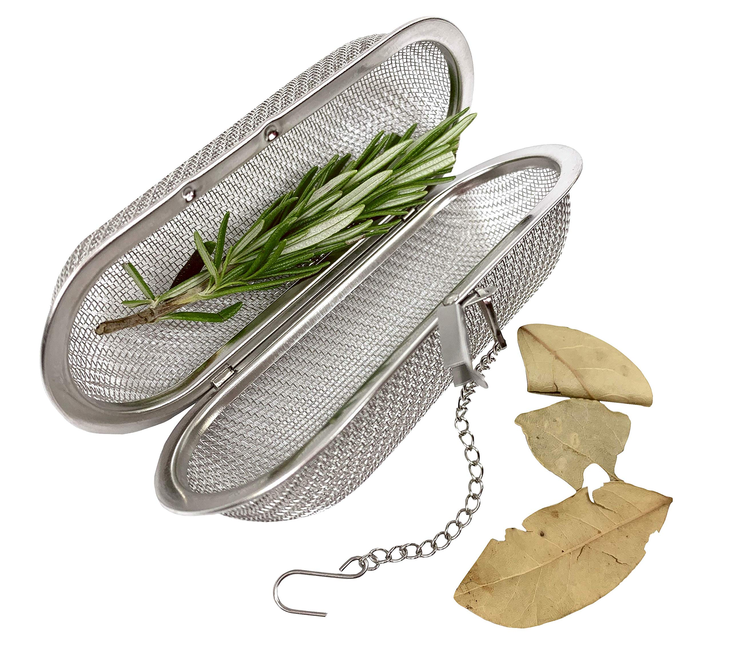 Large Stainless Steel Herb and Spice Infuser for Cooking