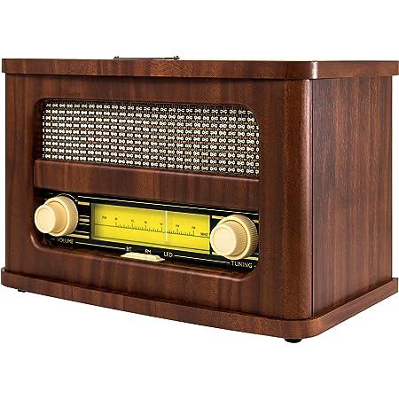 Arte Sound Ar3002 Altavoz Bluetooth Radio Retro Electronics