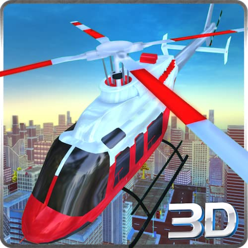 City Police Helicopter Simulator 3D: sauvetage des patients en opération de simulation de vol de l\'ambulance aérienne 911 2018