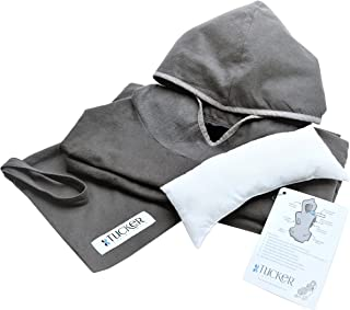 Tucker Travel Cover 4-in-1 Travel Blanket and Pillow for Airplanes, Trains, Cars, Buses and Boats, Small