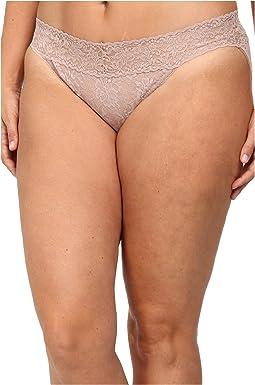 Plus Size Signature Lace V-Kini