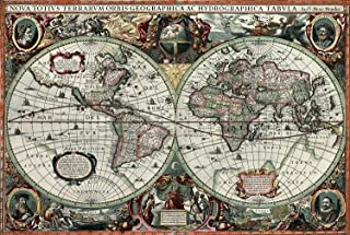 1000 PIECE PUZZLE - HISTORICAL WORLD MAP (TOM100-204)