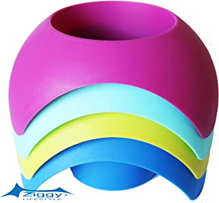 ZiggyShade Drink Cup Holder - Beach Sand Coaster Accessory Holder, Various Colors, Pack of 4 (Mix)
