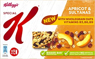 Kellogg's Special K Apricot and Sultana Bars, 5 x 27 g