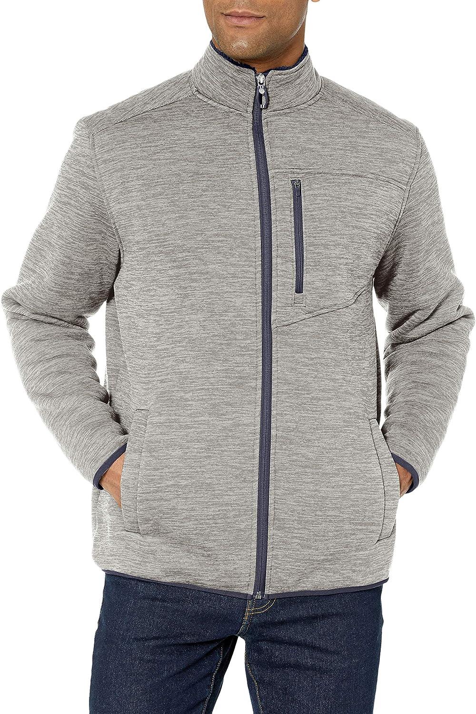 Izod Sherpa Lined Jersey Jacket C/árdigan para Hombre