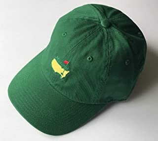 Masters golf Hat green caddy style augusta national new 2019 masters pga