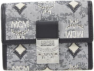 MCM Vintage Jacquard Mini/Trifold Wallet