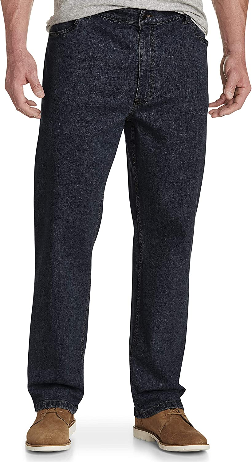 Harbor Bay by DXL Big and Tall Athletic-Fit Jeans