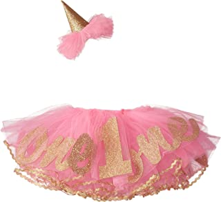 Baby Girl's Birthday Tutu, Multi, One Size