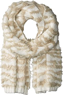 BCBGMAXAZRIA - Textured Animal Knit Muffler