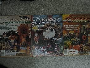 Three Issues Decorative Woodcrafts Magazine (April, 1994; October, 1994; December, 1994)