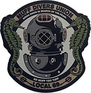 Muff Diver's Union PVC Morale Patch