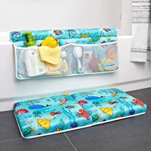 Bath Kneeler and Elbow Rest Pad, Baby Bath Kneeling Set, 1.75 Inch Thick Padded Kneeling Mat for Bathtub, Knee and Elbow C...