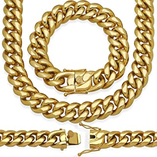 Best miami cuban link white gold Reviews