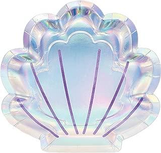 iridescent clam shell
