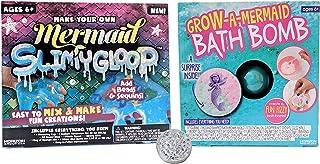 Make Your Own Mermaid Slimygloop and Grow A Mermaid Bath Bomb Bundle