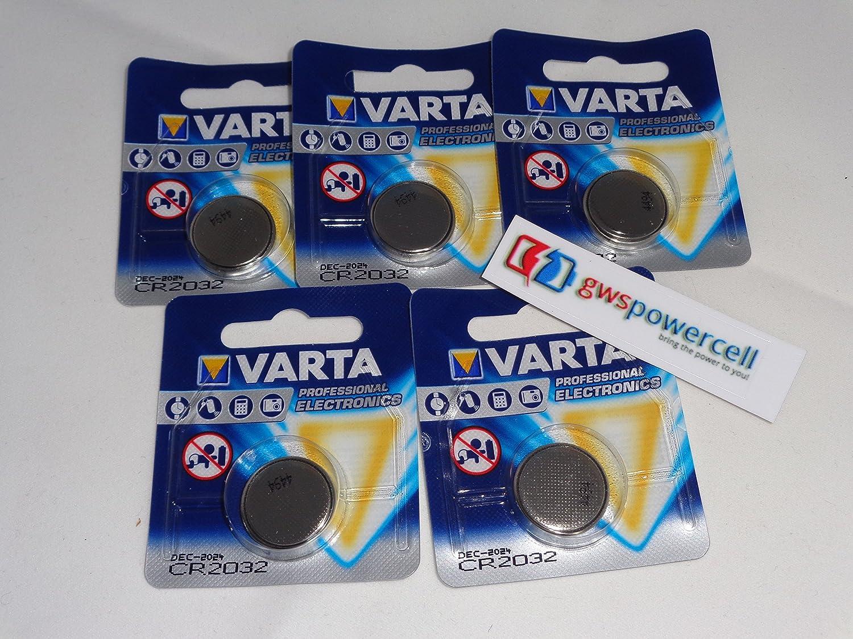 Varta Vcr2025 10x Lithium Knopfzelle Einzelblister Elektronik