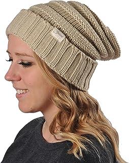 Juccini Women Winter Warm Knit Hat Wool Snow Ski Caps