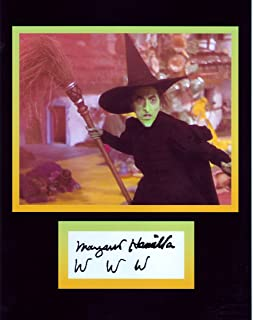 The Wicked Witch of the West from the Wizard of Oz, 8 X 10 Photo Autograph on Glossy Photo Paper
