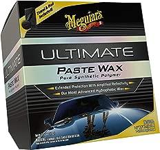 MEGUIAR'S G18211 11 Ounce Ultimate Paste Wax