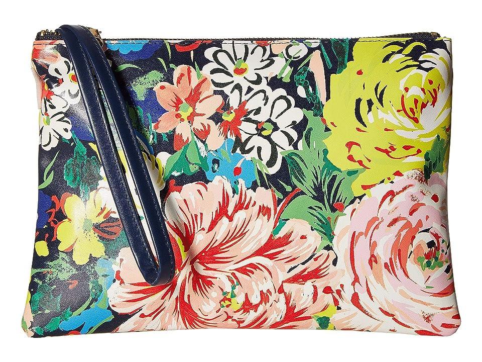 ban.do Get It Together Wristlet Pouch (Flower Shop) Handbags