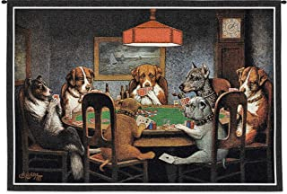 Best dogs playing cards tapestry Reviews