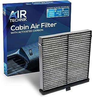 AirTechnik CF12140 Cabin Air Filter w/Activated Carbon | Fits Mazda CX-3 2016-2020/ Scion IA 2016 / Toyota Yaris 2019-2020, Yaris IA 2017-2018