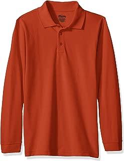 Classroom School Uniforms Kids Big Boys' Uniform Long Sleeve Pique Polo