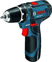 Bosch GSR 10,8-2-LI Professional - Taladro (Ión de litio, 12 V, 2.4 Ah, 169 mm, 178 mm, 950 g) Negro, Azul