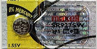 Maxell SR927SW 1.55v 395 Watch Battery. (5pcs Per Pack)