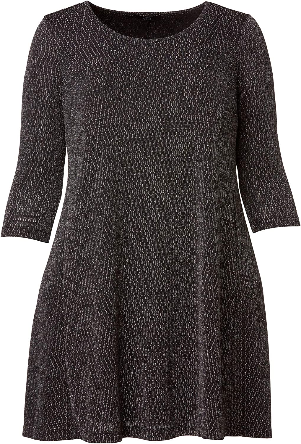 ellos Women's List price Inventory cleanup selling sale Plus Size Knit Glitter Dress