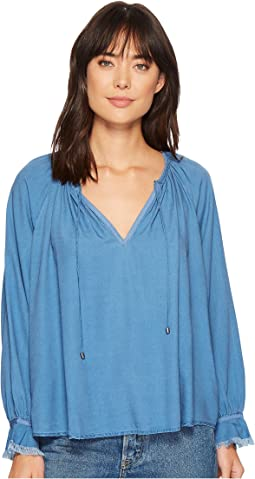 Splendid - Long Sleeve Peasant Top