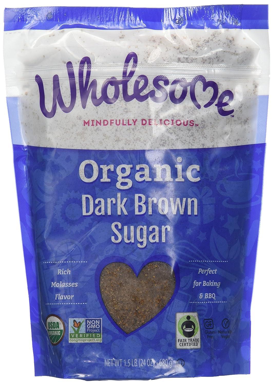 Wholesome Sweeteners Fair Trade Organic Brown Dark Sugar Max 61% OFF Oun Popular 24