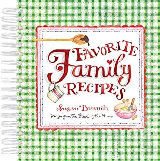 Recipe Keepsake Book - Favorite Family Recipes